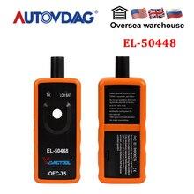 Vdiagtool Электронный диагностический инструмент EL50448 Автомобильный датчик контроля давления в шинах датчик OEC-T5 для G-M/Opel TPMS инструмент сброса EL-50448 A