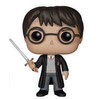 Hot Novel movies action figures 09 H. Potter with sword 10cm model toys doll collection for kids gifts