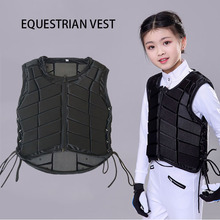 Children Equestrian Vest Protective Horse Riding Armor Kids Equestrian Equipment Safety Riding Equipment for Boy and Girls