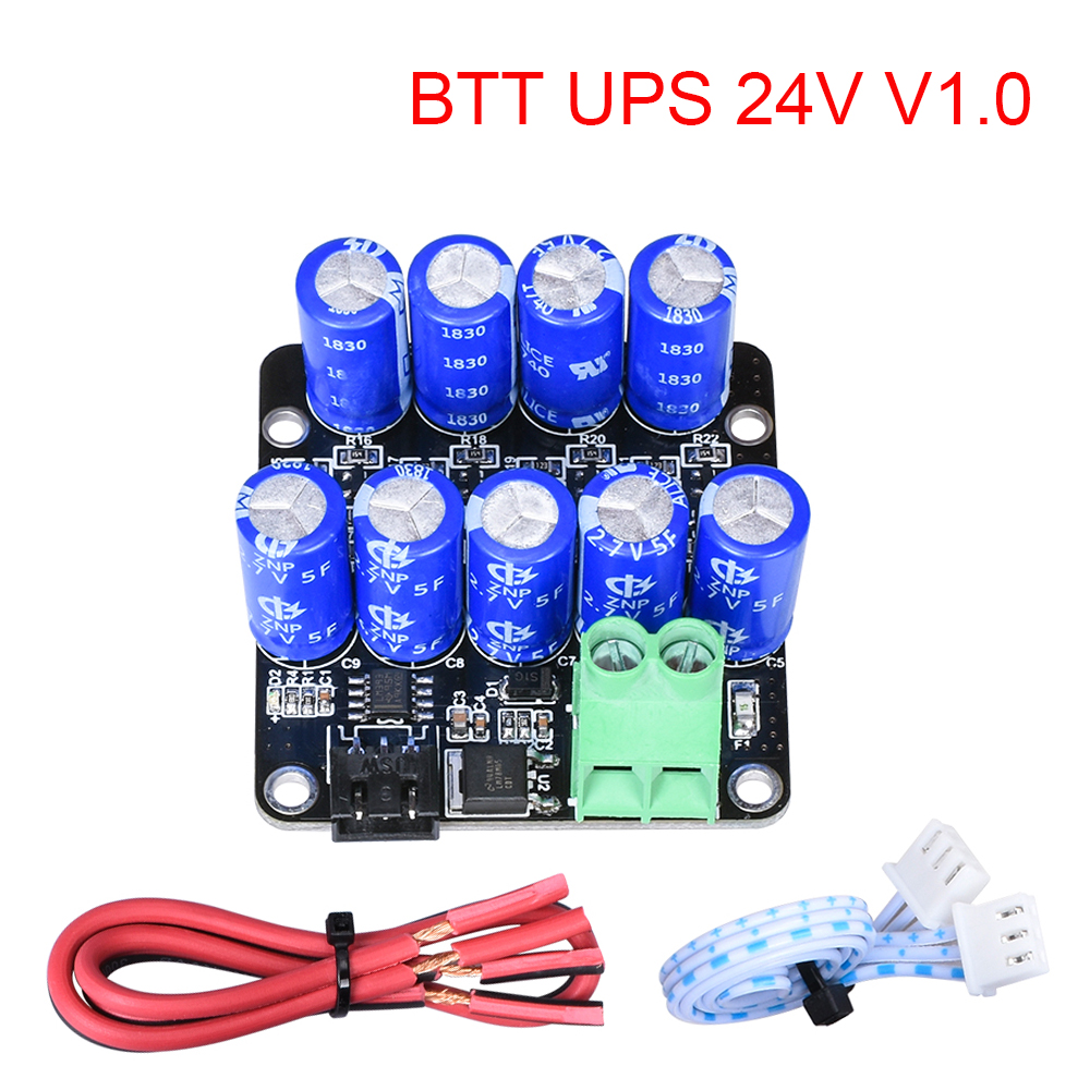 3D Printer Parts BTT UPS 24V V1 0 Module Resume Printing While Power Off Module For Ender 3 SKR V1 3 PRO mini E3 Control Board