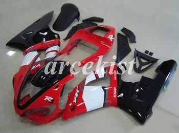 New ABS Motorcycle bike Full Fairings Kit Fit For YAMAHA YZF-R1 2000 2001 00 01 R1 bodywork set Custom Red White Black