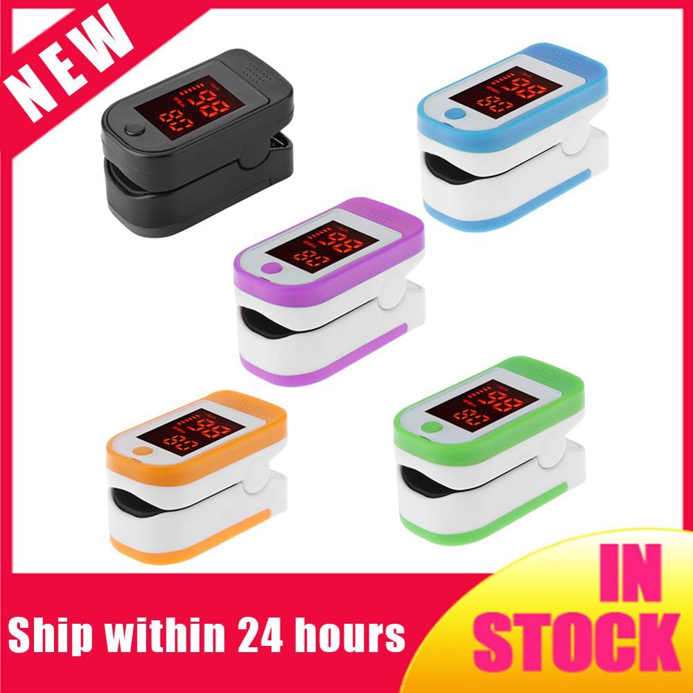 2020 Portable Digital Fingertip Pulse Oximeter Blood Oxygen Saturation Meter Finger SPO2 PR Monitor Health Care ( No Battery)