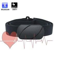 Medidor de frequência cardíaca esportiva, cinta de treinamento fitness wahoo com bluetooth ant + cinto de frequência cardíaca monitor de monitor