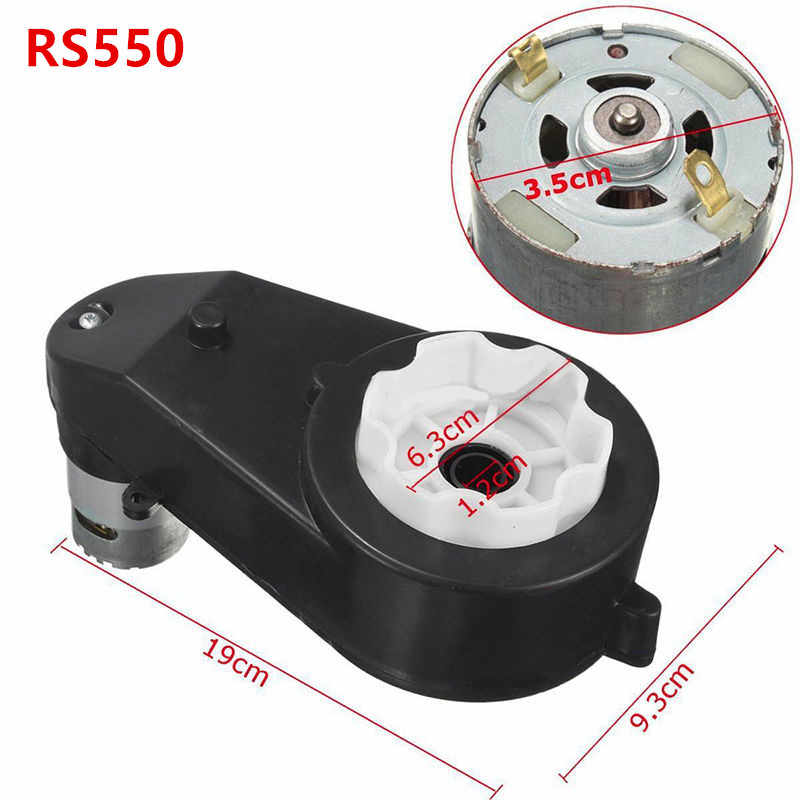 Electric Gearbox RS390//RS550//Wear-resistant Replacement Accessories 12V Portable