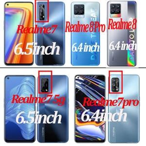 Image 5 - 9D الزجاج المقسى ل Realme 7 8 pro الزجاج Realme 8 7pro واقي للشاشة الهاتف سلامة الجبهة نظارات Realme 7 7 5g طبقة رقيقة واقية