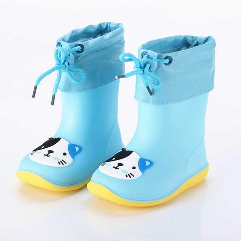 Children Rain Boots Kids Waterproof