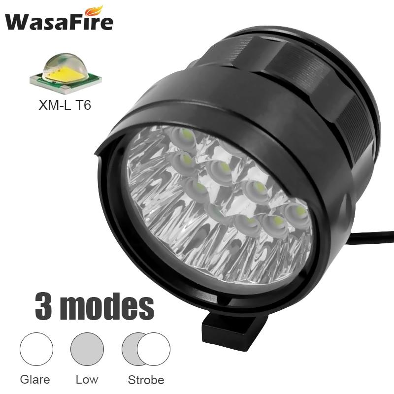Ultra Bright XML T6 LED Head Light MTB Bike Lamp Front Torch Battery Waterproof