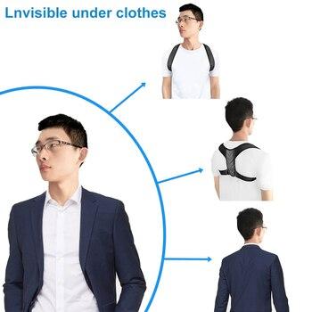 Braces Supports Belt Adjustable Back Posture Corrector Clavicle Spine Back Shoulder Lumbar Brace Support Belt