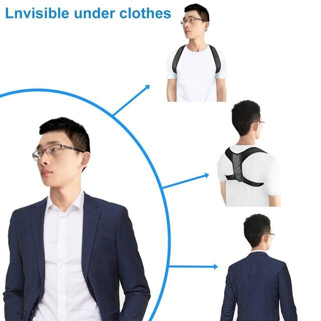 Braces Supports Belt Adjustable Back Posture Corrector Clavicle Spine Back Shoulder Lumbar Brace Support Belt Posture