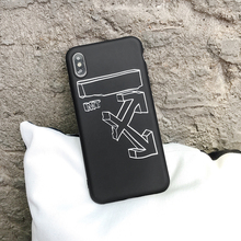 Luxury OW Brand Silicone Case for iPhone