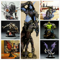 WOW Sylvanas Windrunner Archery Queen Thief Knight Series PVC Anime Action Figure for Fans Children Birthday Gift