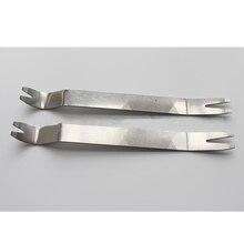 Auto-Trim-Removal-Tool Metal for Vehicle Dash-Radio Audio-Installer 1PC Door-Panel Stainless-Steel
