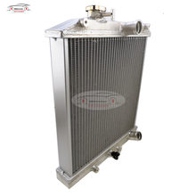 2 RANGÉES 28MM 32mm/TUYAU En Aluminium Radiateur 92-00 POUR Honda POUR Civic EK PAR EXEMPLE D15 D16 B16 B18