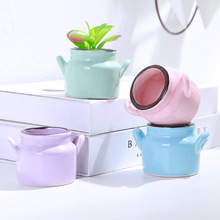 Flower Pot Creative Fleshy Home Decor Container  Succulent Plant Planters