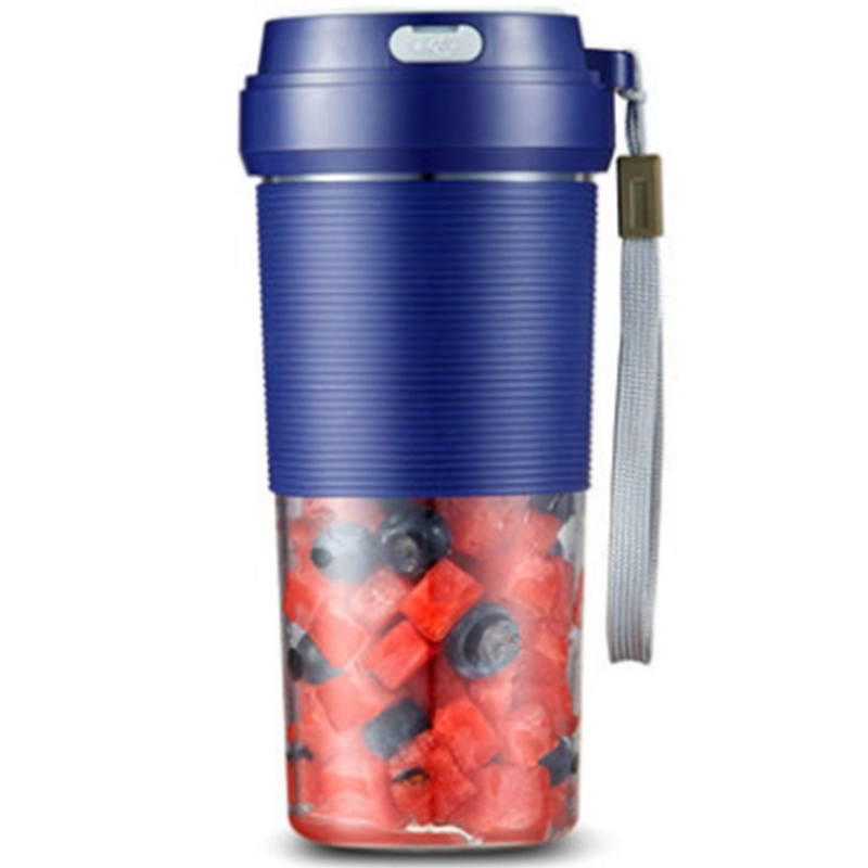 Portable Blender, Cordless Personal Blender Juicer, Mini Mixer, Waterproof Smoothie with Usb Rechargeable,300Ml, Home,