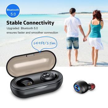 Tws Wireless Bluetooth Earphones Mini Stereo Bass Earphone Earbuds Sport Headset For Smart Phone