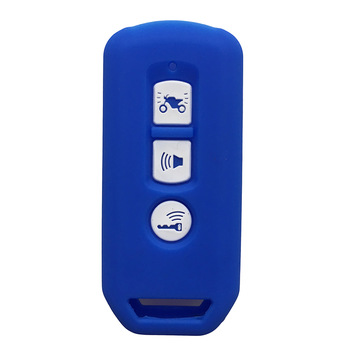 Silicone Key Cover Cap for Honda PCX125 Super Cub SH 125 300 2016 - 2020 Silicone Motorcycle Key Remote Keyring Case Fob Cover image