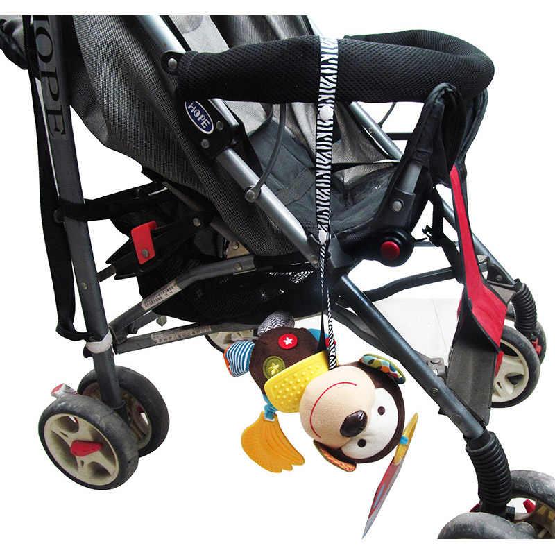 תינוק עגלת אביזרי צעצועי Teether מוצץ שרשרת רצועת בעל חגורה שומר קבוע יויה תינוק עגלת אבזרים לעגלה