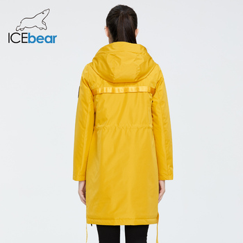 ICEbear 2020 new Autumn and winter women s coat with a hood casual wear quality