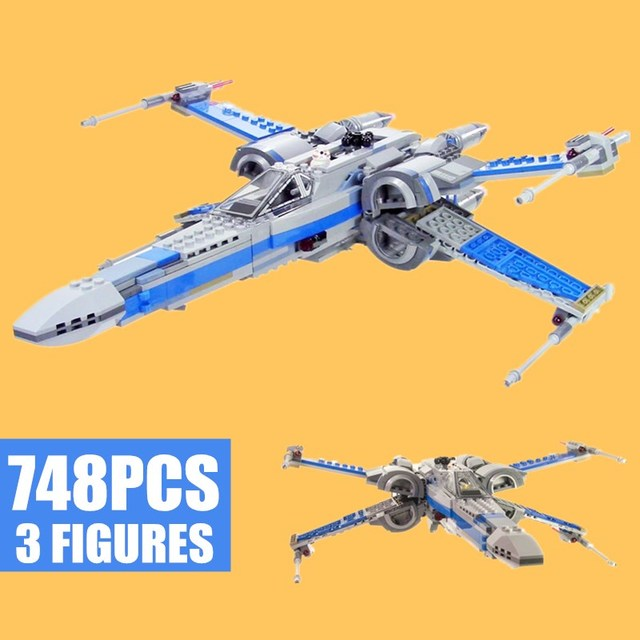 New First Order Poe's X-wing Fighter Star Wars Figures 4