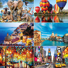 Jigsaw Puzzles 1000 Pieces Puzzle Game Paper Quality Assembling Puzzles Adults Puzzle Toys Kids Games Children Educational Toy