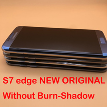 Оригинальный SUPER Amoled дисплей 5,5 дюйма для SAMSUNG Galaxy S7 edge G935, ЖК дисплей, сенсорный дигитайзер с рамкой для SAMSUNG Galaxy S7 edge, G935, SM G935F G935FD
