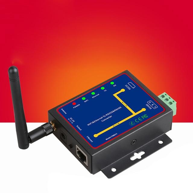 AMS-Rs232 Rs485 vers le convertisseur Wifi série vers le Module dinterface Ethernet prend en charge Tcp/Udp/Ip P2P
