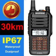 2020 Baofeng UV 9R Plus walkie talkie 50km Long range 8000mah two way radio vhf uhf Baofeng uv9r plus ham radio CB radio station