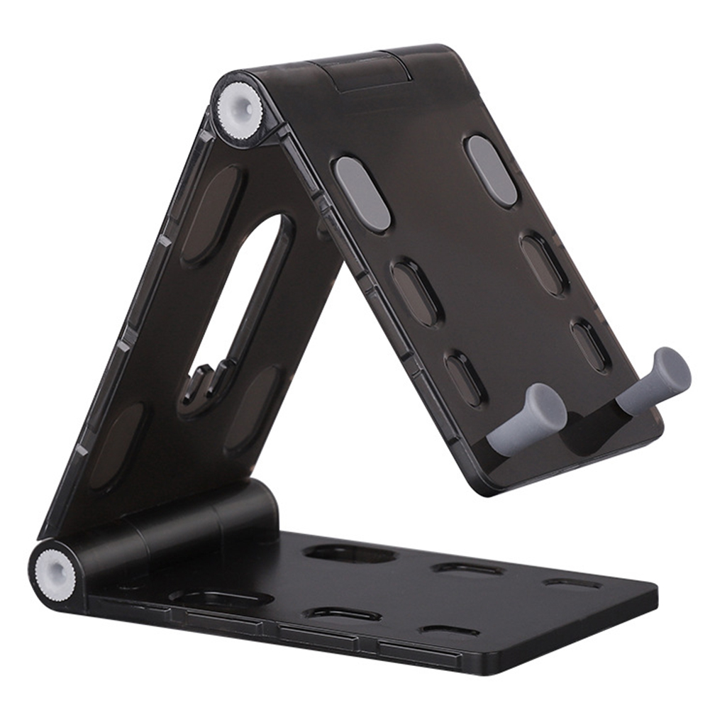 Mobile Phone Holder Non Slip Desktop Stand Foldable Home Video Watching Universal Portable Vertical Adjustable Angle Mount