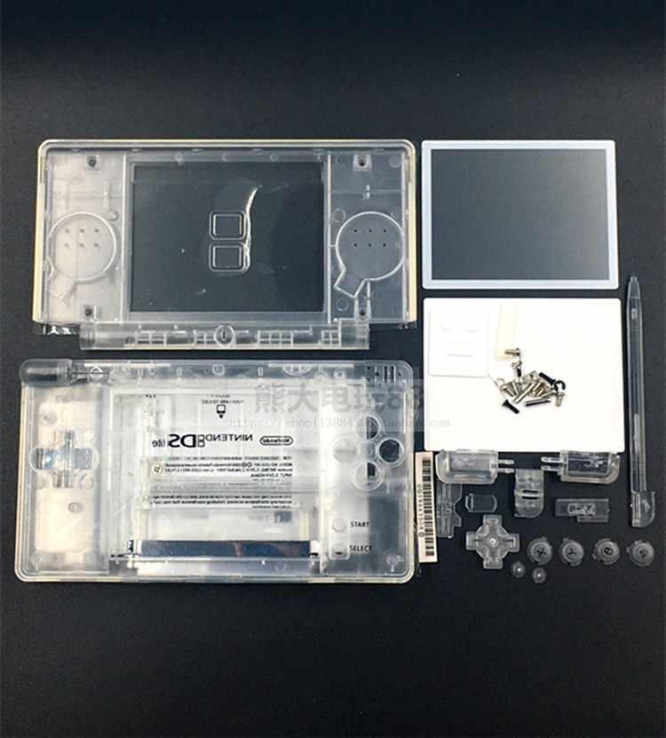 חדש מלא חלקי תיקון החלפת דיור פגז מקרה ערכת עם מברג עבור Nintendo DS Lite NDSL