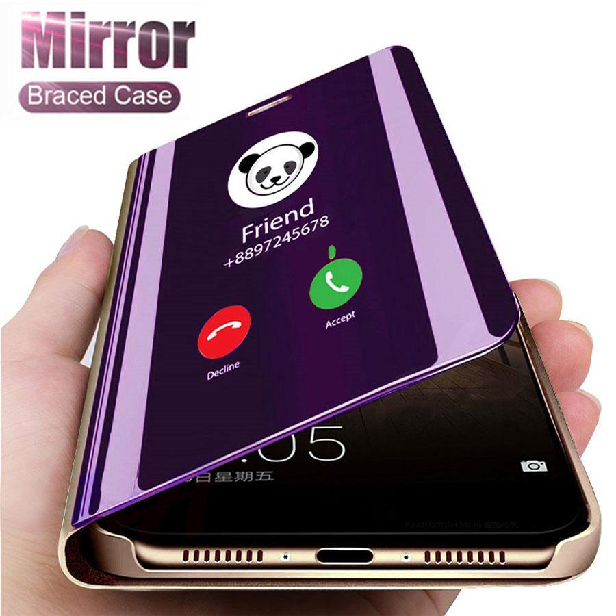 Smart Mirror Phone Case For Xiaomi Mi Redmi Note 9s 10 8 8T 7 K30 K20 5 6 Pro Max 4 4X 9 8 Lite 8A 6 6A 7A Plus A1 A2 A3 5X 6X(China)