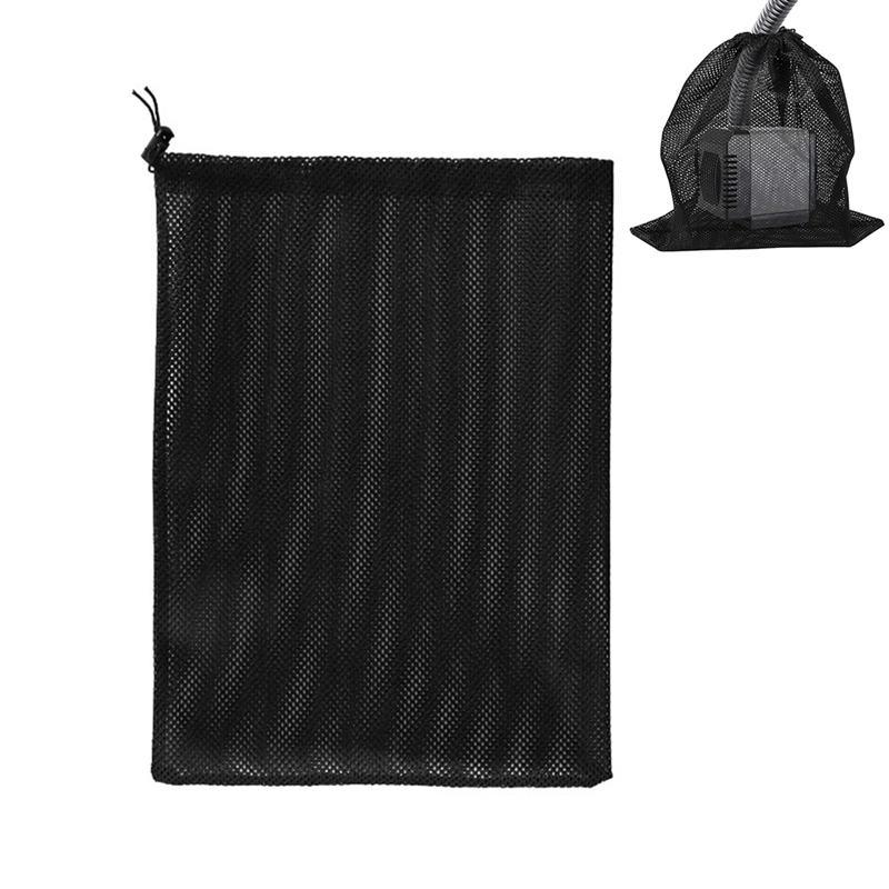 2020 Aquarium Mesh Bag Fish Pond Filter Bag Pond Pump Filter Bag Pump Filter Mesh Bag Pond Filter