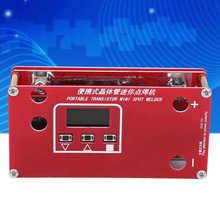 Transistor Capacitor Spot-Welder-Machine Welding-Tools Lithium-Battery Mini Portable
