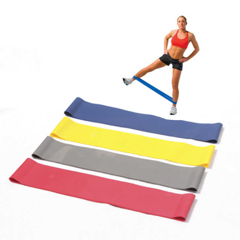 Fitness Training Resistance Bands Gum Oefening Gym Sterkte Weerstand Bands Sport Rubber Fitness Bands Fitnessapparatuur