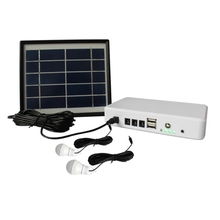 Mini Solar Generator System Portable Home Generator Power Solar System