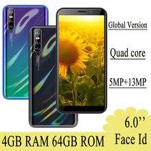 Note10 entsperrt Android Smartphones 4G RAM + 64G ROM Original 18:9 Gesicht Anerkennung 13MP Handys celular günstige handy handys 3G