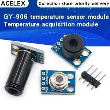 GY-906 mlx90614esf novo mlx90614 módulo sensor de temperatura sem contato compatível