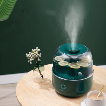JSQ-2260 Ultrasonic Air Humidifier 220V Water Diffuser 4000ML Desktop Essential Oil Aroma Diffuser Air Purification Mist Maker