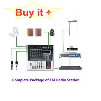 1500W nadajnik FM + 1-Bay + 30 metrów z złącze z cyfrowy koder Rds kompletny pakiet (wszystkich 11 zestawów urządzeń) tanie i dobre opinie YXFMTV CN (pochodzenie) YXHT 1500W FM 220 v