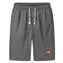 Boy Shorts Male Summer Casual Fashion 6XL 5XL Black Gray Knee-Length S14 Teenage Knitted