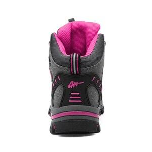 Image 5 - Winter Waterproof Hiking Boots Women Trekking Shoes Outdoor Mountain Leather Treking Sneakers Sepatu Gunung Montagna Botas