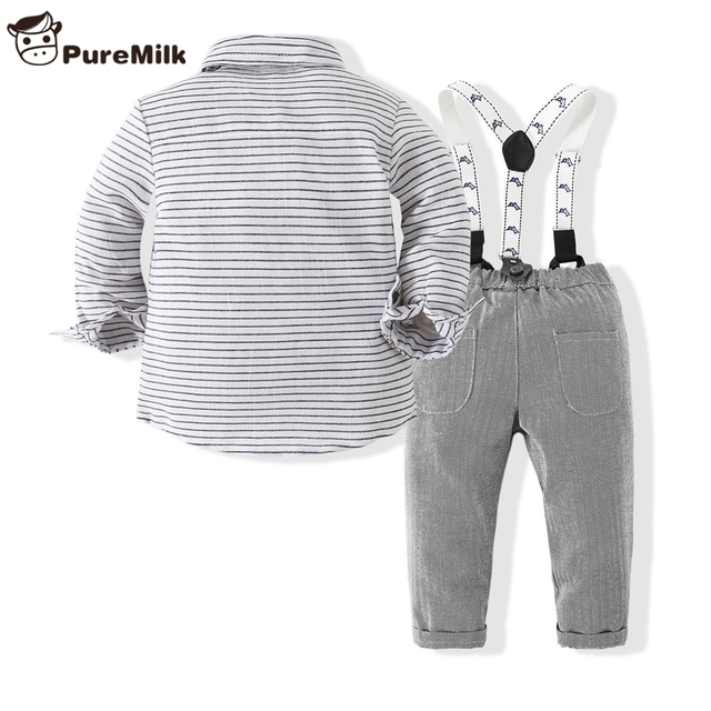 Baby Boy's Striped Clothing 2 pcs/Set 2
