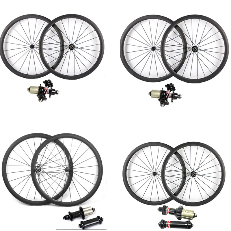 Super léger Powerway R13 R36 carbone vélo roues 700C 38 50 60 88mm pneu tubulaire vélo de route roues AS511SB FS522SB Hub