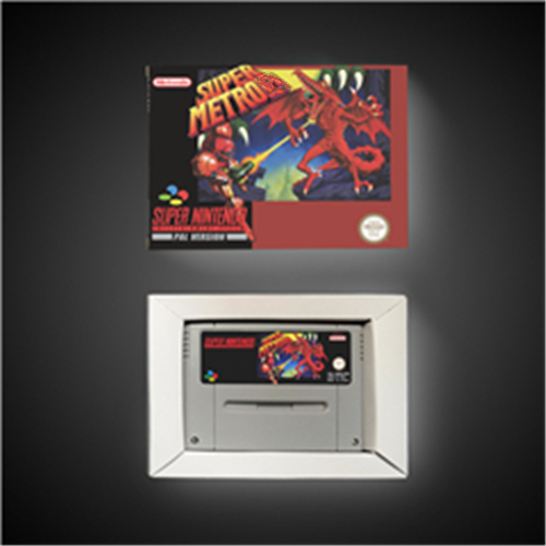 Super Metroided - EUR Version RPG Game Card Battery Save With Retail Box