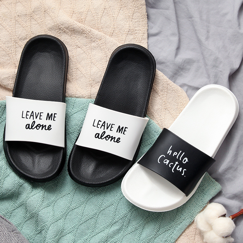 Summer Slides Women Slippers Non-slip Soft Bottom Indoor Outdoor Hotel Eva Slide Sandals Women Men Couple Bothe Shoes Flip Flops