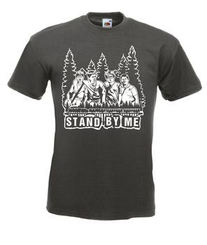 Stand By Me 80s Movie T Shirt 2020 High quality Brand T shirt Casual Short sleeve O-neck Fashion Printed 100% Cotton summer new