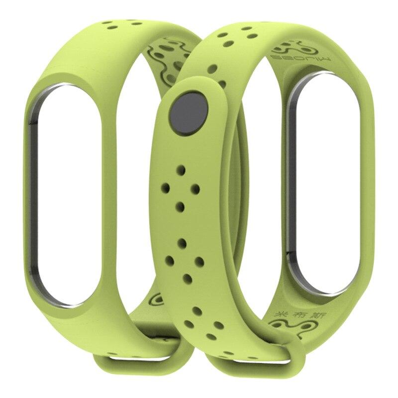 For  Mi Band 3 Strap Silicone Bracelet For Xiaomi Mi Band 3 Strap Sport Smart Mi Band 4 Strap Wristband Correa Miband 3 Strap
