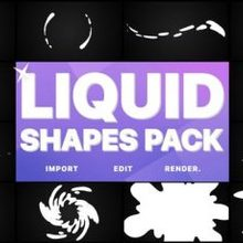 Liquid Shapes Pack | XX- Videohive Download 24696312