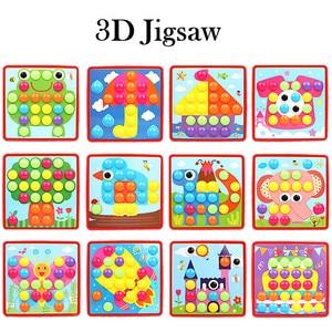 3D Jigsaw Puzzle Educational T
