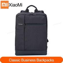 Оригинальный рюкзак Xiaomi Mi, классические деловые рюкзаки емкостью 17 л, Студенческая сумка для ноутбука, мужские и женские сумки для 15 дюймового ноутбука, Лидер продаж